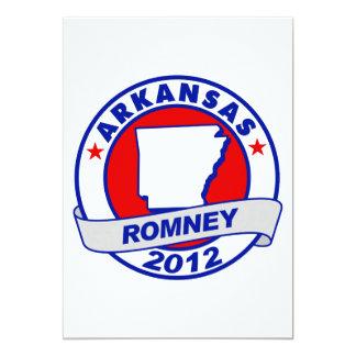 Arkansas Mitt Romney 5x7 Paper Invitation Card