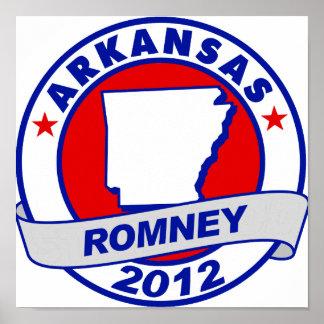 Arkansas Mitt Romney Impresiones
