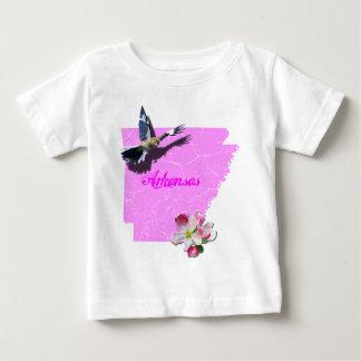 Arkansas Mockingbird & Apple Blossom Baby T-Shirt