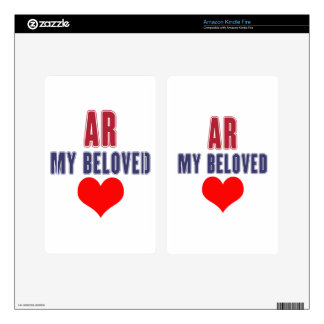 Arkansas my beloved kindle fire decal