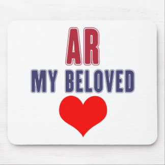 Arkansas my beloved mouse pad