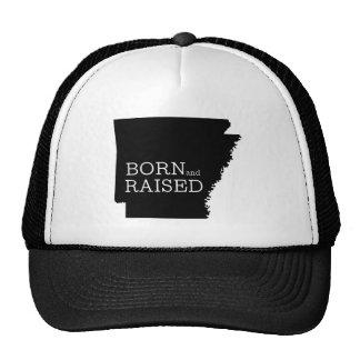 Arkansas nacido y aumentado gorras