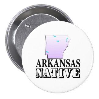Arkansas Native Button