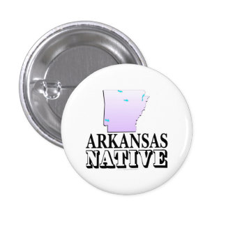 Arkansas Native Pin