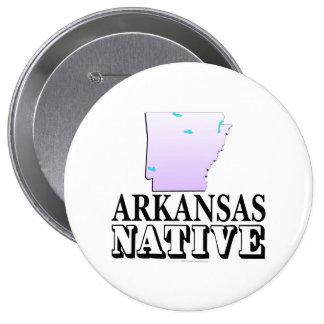Arkansas Native Pinback Button
