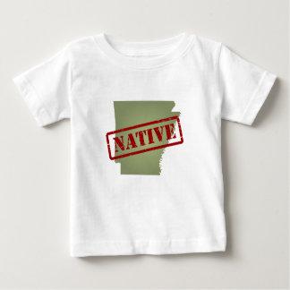 Arkansas Native with Arkansas Map Baby T-Shirt