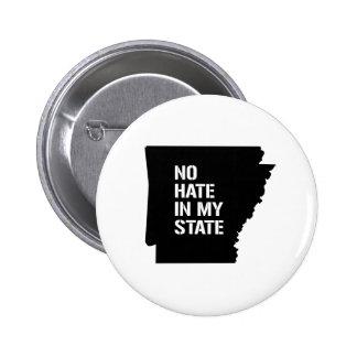 Arkansas: No Hate In My State 2 Inch Round Button