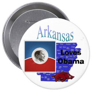 Arkansas Obama pin