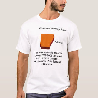 Arkansas Obscured Marriage Law T-Shirt