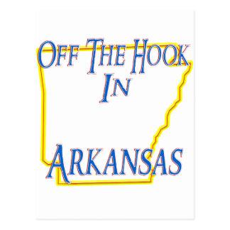 Arkansas - Off The Hook Postcard