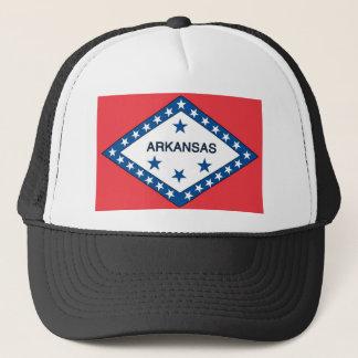 Arkansas  Official State Flag Trucker Hat