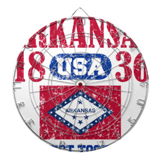 ARKANSAS PERFECT TOGETHER DISTRESSED PRODUCTS DARTBOARDS