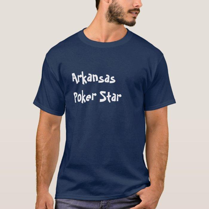 Arkansas Poker Star T-Shirt