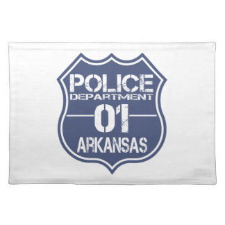 Arkansas Police Department Shield 01 Cloth Placemat