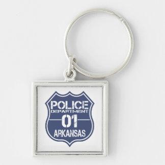 Arkansas Police Department Shield 01 Keychain
