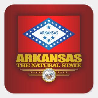 Arkansas Pride Square Sticker