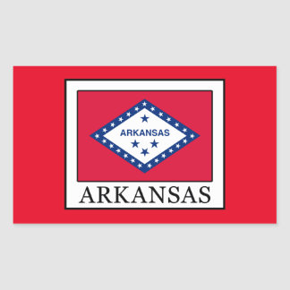 Arkansas Rectangular Sticker