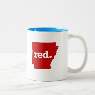 ARKANSAS RED STATE Two-Tone COFFEE MUG