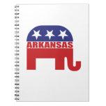 Arkansas Republican Elephant Note Book