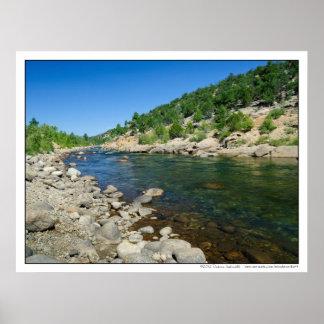 Arkansas River in Southern Colorado Print