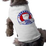 Arkansas Ron Paul Camisetas Mascota