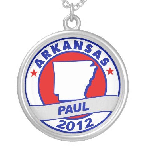 Arkansas Ron Paul Colgante Personalizado