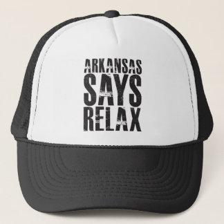Arkansas Says Relax Trucker Hat