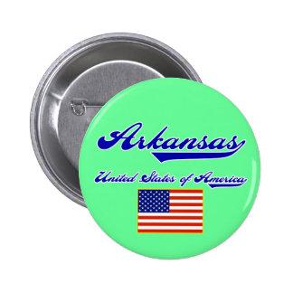 Arkansas Script Pins