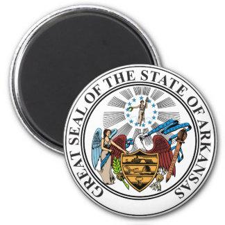 Arkansas Seal Fridge Magnet