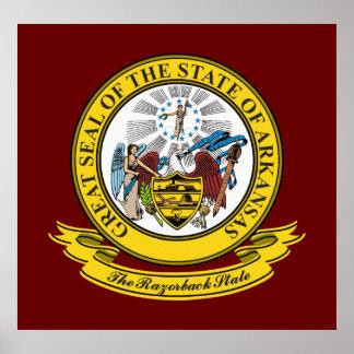 Arkansas Seal Poster
