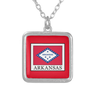 Arkansas Silver Plated Necklace