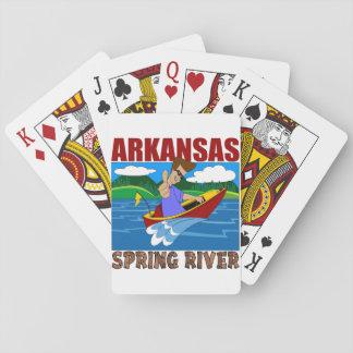 Arkansas Spring River Playing Cards