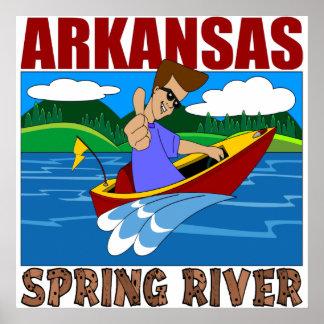 Arkansas Spring River Poster