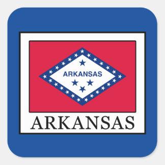 Arkansas Square Sticker