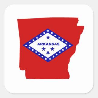 Arkansas. Square Sticker