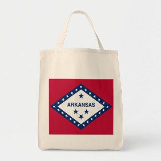Arkansas State Flag Canvas Bag