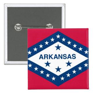 Arkansas State Flag Buttons