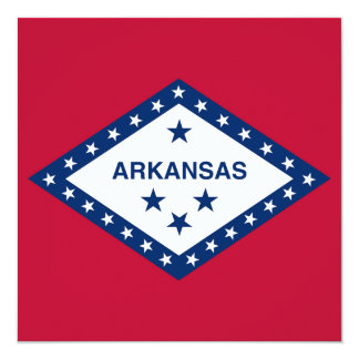 Arkansas State Flag Card