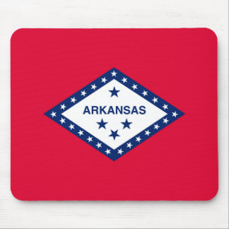 Arkansas State Flag Design Mouse Pad