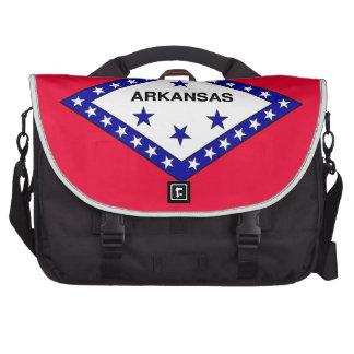 Arkansas State Flag Laptop Commuter Bag
