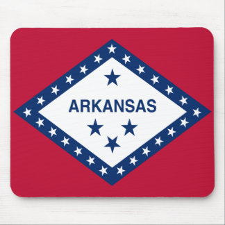 Arkansas State Flag Mouse Pad