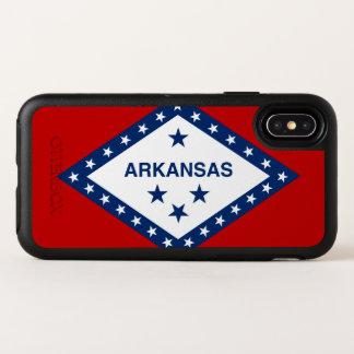 Arkansas State Flag OtterBox Symmetry iPhone X Case