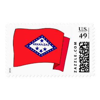 Arkansas State Flag Stamps