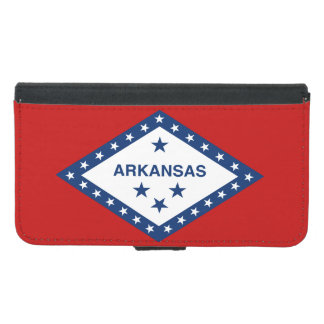 Arkansas State Flag Samsung Galaxy S5 Wallet Case