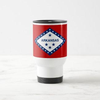 Arkansas State Flag Travel Mug