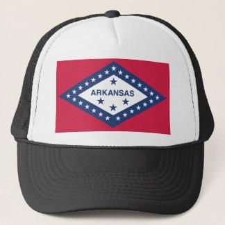 Arkansas State Flag Trucker Hat