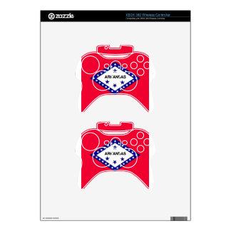 Arkansas State Flag Xbox 360 Controller Decal