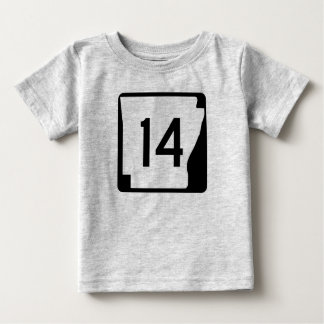 Arkansas State Route 14 Baby T-Shirt