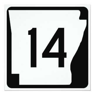 Arkansas State Route 14 Card