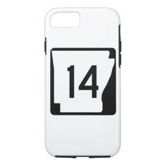 Arkansas State Route 14 iPhone 8/7 Case